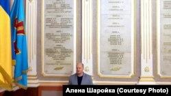 Ім'я Павла Шаройко записане на стіні факультету журналістики колишньої Львівського військово-політичного училища (нині Академія сухопутних військ України)