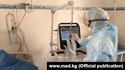 В одной из клиник Бишкека.