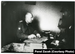 Генерал РОА Сергей Буняченко, май 1945 года