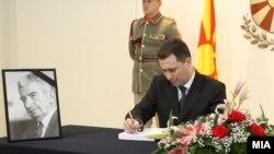 Премиерот Никола Грувески