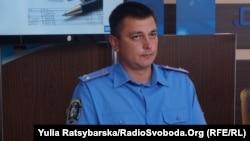 Начальник відділу превентивної діяльності міської поліції Дніпра Максим Джихур