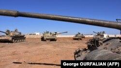 Tanke të ushtrisë siriane