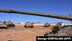 تانک های ارتش سوریه (عکس از آرشیو)
