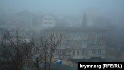 Туман в Севастополе, 20 февраля 2020 года