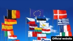 Avropa Birliyinə üzv ölkələrin bayraqları