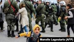 صحنهای از وضعیت در لسبوس، ۱۴ بهمن امسال