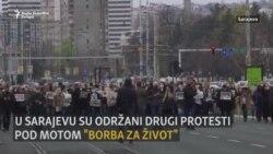 'Borba za život': Novi protesti u Sarajevu zbog nenabavke vakcina