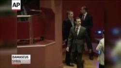 Assad son 6 ayda ilk dəfə göründü