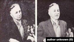 Две от последните снимки в живота на земеделския лидер Никола Петков, обесен след фабрикуван процес през 1947 г.