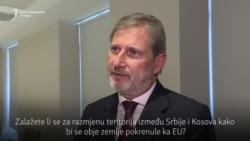 Hahn: Prepustiti Srbiji i Kosovu da se dogovore