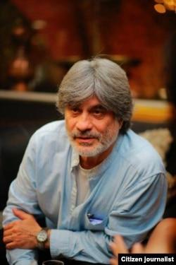 Taniqli multiplikator va aktyor Nozim To'laxo'jayev.