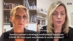 COVID-19 și strategia suedeză. Epidemiolog, despre scăderea cazurilor în Suedia