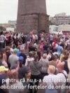 """Protestatarii din Habarovsk: """"Nu este normal să ne fie luat guvernatorul"""""""