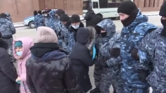 Protesters In Nur-Sultan Fear New Kazakh Law Will Infringe Parents' Rights (Clean)