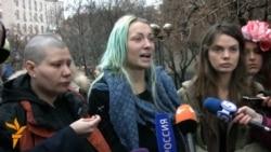 """Тавҳини фаъолони """"Фемен"""" дар Беларус"""