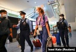 Luată sub protecția poliției japoneze