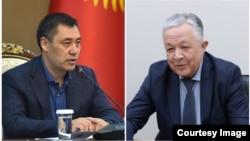 Садыр Жапаров и Рашид Тагаев.