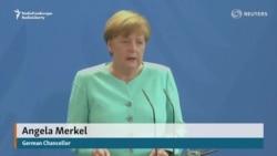 """Merkel britan refendumynyň """"hötdesinden gelip biljekdiklerini"""" aýtdy"""