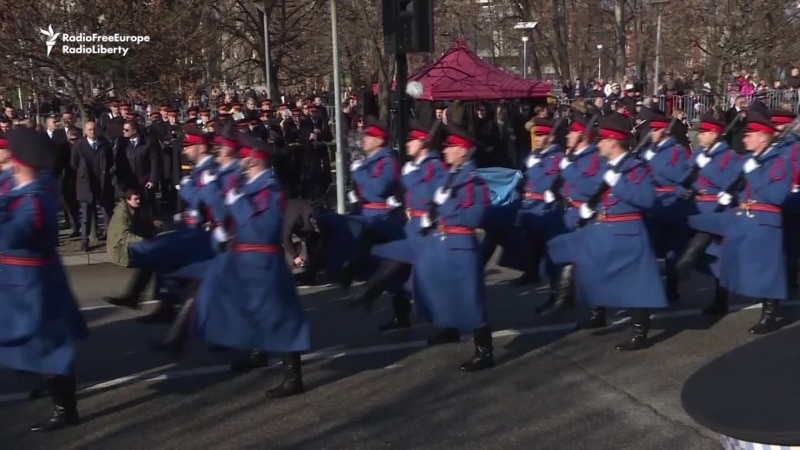 Bosnian Serbs Celebrate Controversial 'Republika Srpska Day'