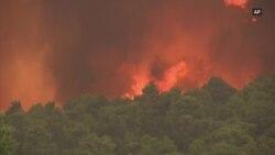 Veliki požari u Grčkoj