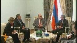 Համանախագահները հանդիպեցին Սերժ Սարգսյանին