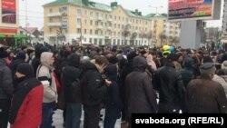 Марш недармаедаў у Баранавічах 26 лютага