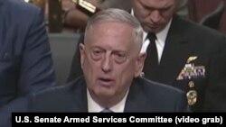 جیمز متیس وزیر دفاع ایالات متحدۀ امریکا