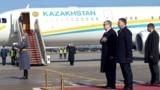 Kazakhstan - Kazakhstan's interim president Kasym-Zhomart Tokaev arrived to Moscoq noon. Moscow, 3 April 2019