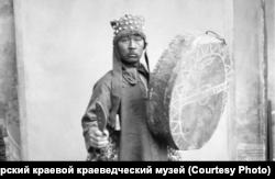 Шаман Петр Сарлин. Красноярск. 1910 г.
