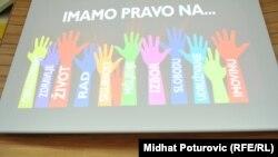 Ilustracija, sa jedne od konferencija o ljudskim pravima u Sarajevu