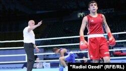 Tajikistan, Dushanbe city, Shavkatjon Rahimov, tajik boxing representative,23November2016