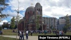 """Objekti ortodoks """"Krishti Shpëtimtar"""" në Prishtinë"""