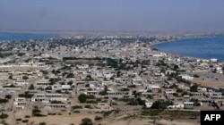 Residential areas of Gwadar town.