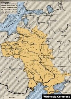 Мапа Рысы аселасьці