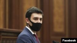 Депутат правящей парламентской фракции«Мой шаг» Сос Аветисян (архив)