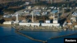 Фукусима АЭС-інің үстінен түсірілгендегі көрінісі. Көрнекі сурет.