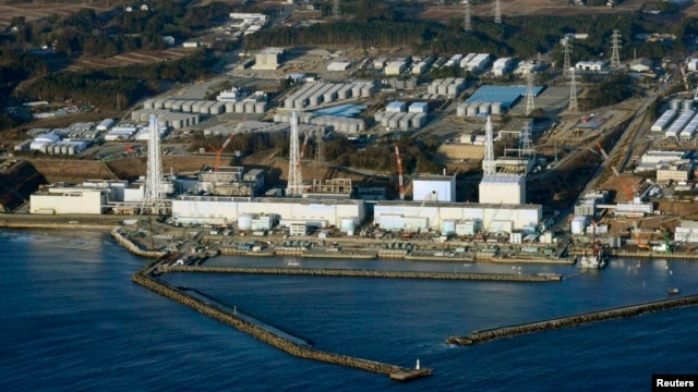 An aerial view of Tokyo Electric Power's tsunami-crippled Fukushima Daiichi nuclear power plant in Fukushima Prefecture in March, two years after the catastrophic tsunami and nuclear accident.