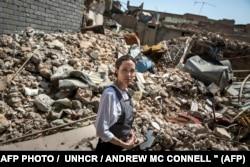 Анджелина Джоли на развалинах Старого города Мосула