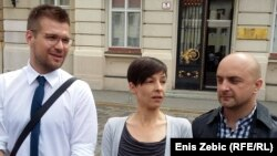 Ivan Novosel, Jelena Berković i Gordan Bosanac