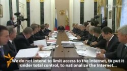 Putin Says Russia Will Not Curb Internet Access