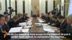 Putin Says Russia Will Not Curb Internet Access