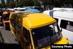 Более 90% пассажироперевозок в Бишкеке приходятся на маршрутки.