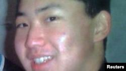 Фото предполагаемого Ким Чен Уна, младшего сына лидера Северной Кореи Ким Чен Ира. Фотография опубликована Южнокорейским новостным агентством.