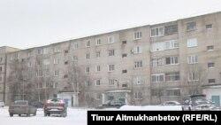 Павлодар қаласындағы көп қабатты тұрғын үй. (Көрнекі сурет.)