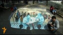 Гігант встановлення сучасних 3D-інсталяцій закликає до мирних переговорів у Сиріії