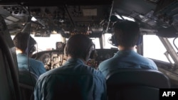 هواپیمای نظامی ویتنام در حال جستوجو در دریای چین جنوبی در مناطق جنوبی خاک آن کشور