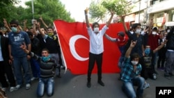 İstanbulda etirazlar