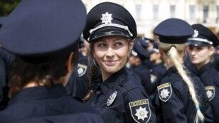 У столиці України склали присягу на вірність українському народу патрульні поліцейські