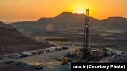 İranda neft sahəsi