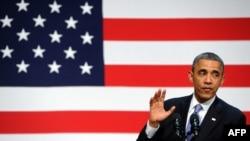 ԱՄՆ - Նախագահ Բարաք Օբաման ելույթ է ունենում Կալիֆորնիայի Սան Ֆրանցիսկո քաղաքում, 25-ը նոյեմբերի, 2013թ․